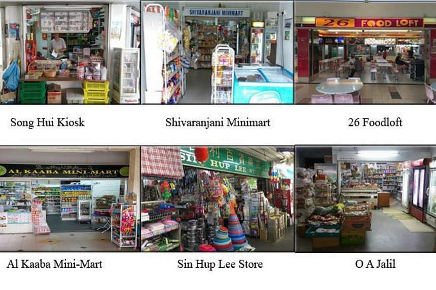 Song Hui Kiosk had its tobacco retail licence revoked, while the licences of the other five were suspended for six months.