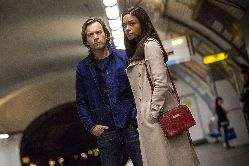 Johnny Depp (left) reprises his role as the Mad Hatter in Alice Through The Looking Glass. Ewan McGregor and Naomie Harris (both left) in Our Kind Of Traitor. Kim Min Hee stars as Lady Hideko in The Handmaiden.