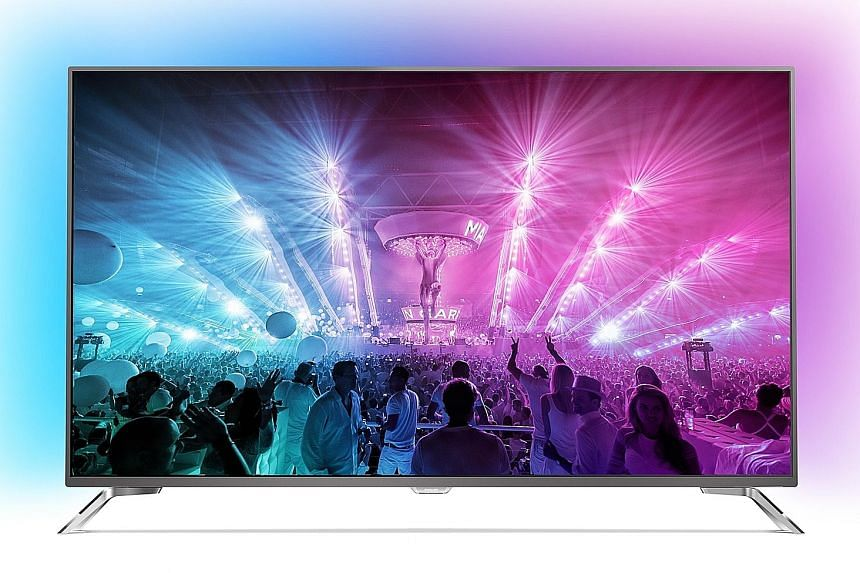 Philips uses its own HDR Plus branding for the 65UT7101.