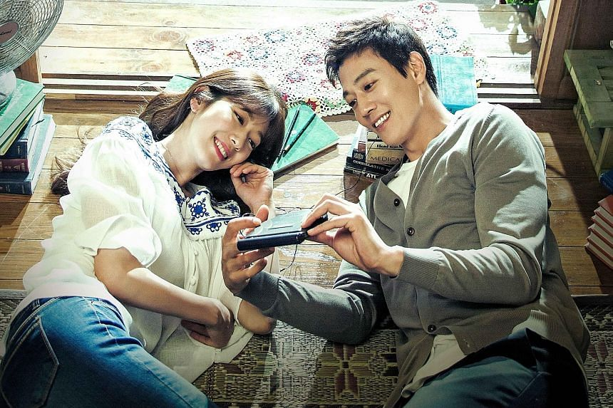 Park Shin Hye and Kim Rae Won (both left) in Doctors. Kazuki Namioka (far left) and Kento Hayashi are comedians in Hibana: Spark.