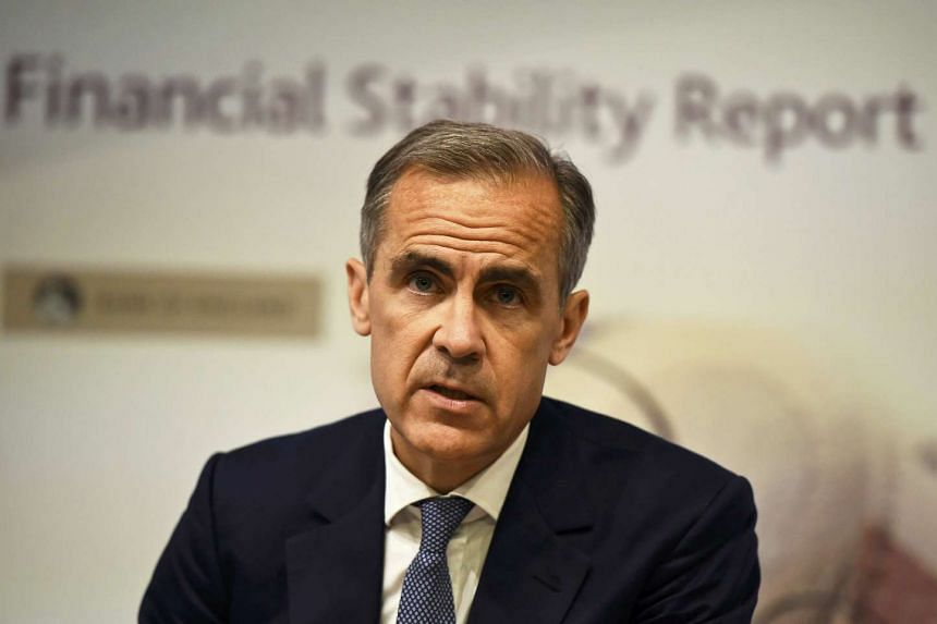Bank of England governor Mark Carney at a news conference at the Bank of England on July 5, 2016.