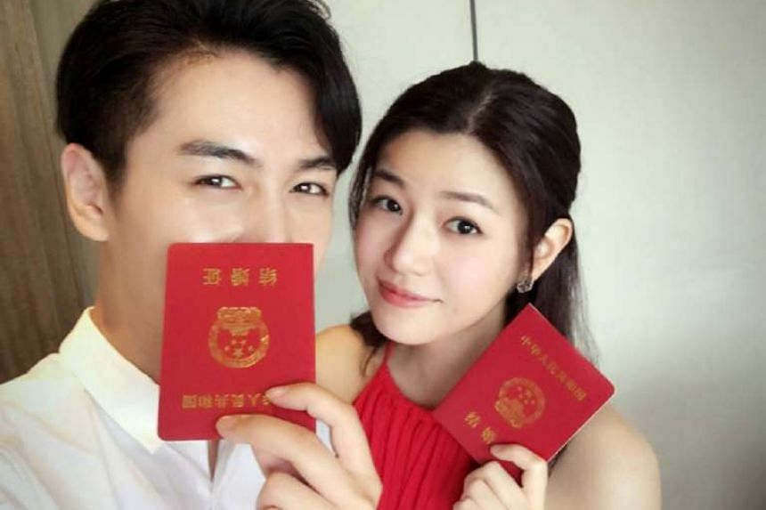 Chen Xiao and Michelle Chen were married yesterday.