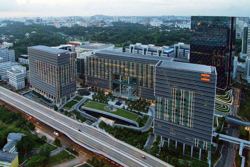 """The property deal will see MCT taking over an office tower and three business park blocks. The property has a committed occupancy of 99 per cent, with a weighted average lease to expiry of 3.5 years. Analysts told The Straits Times that the asset is a """"go"""