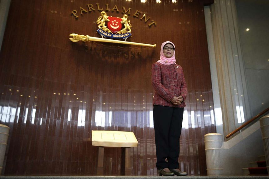 Madam Halimah Yacob - Singapore's first woman Speaker of Parliament - received the Doctor of Laws degree on July 7.