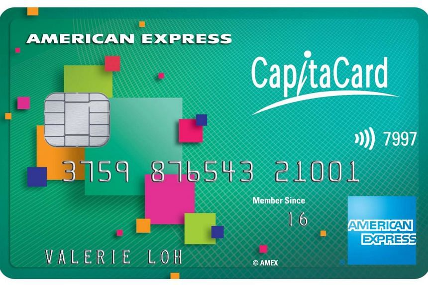 CapitaLand Mall Asia and American Express launched on Thursday (July 7) the American Express CapitaCard - the first multi-mall loyalty credit card in Singapore.