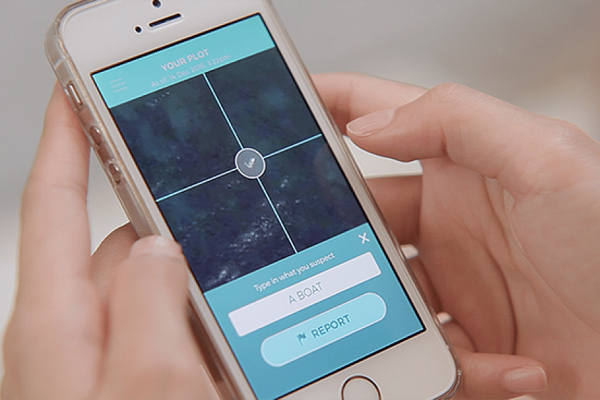 The I SEA app claimed to be able to locate migrant vessels in the Mediterranean Sea.