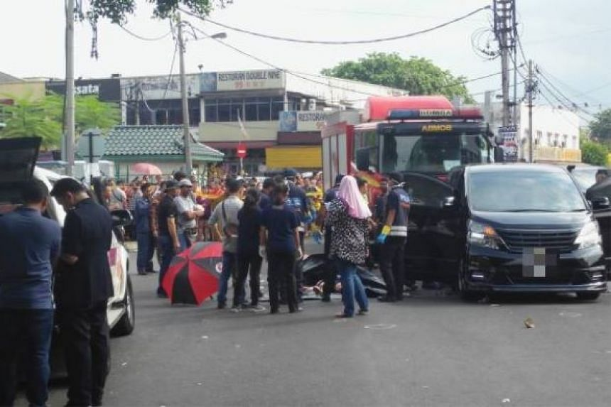 A real estate agent has been killed in a drive-by shooting at a Kuala Lumpur suburb by two unknown assailants on July 6, 2016.
