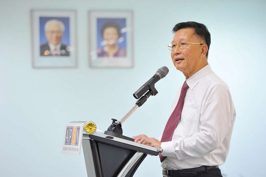 Mr Winston Wong, Vice-President of APSN, at the official opening of APSN Centre for Adults (CFA) on July 8, 2016.