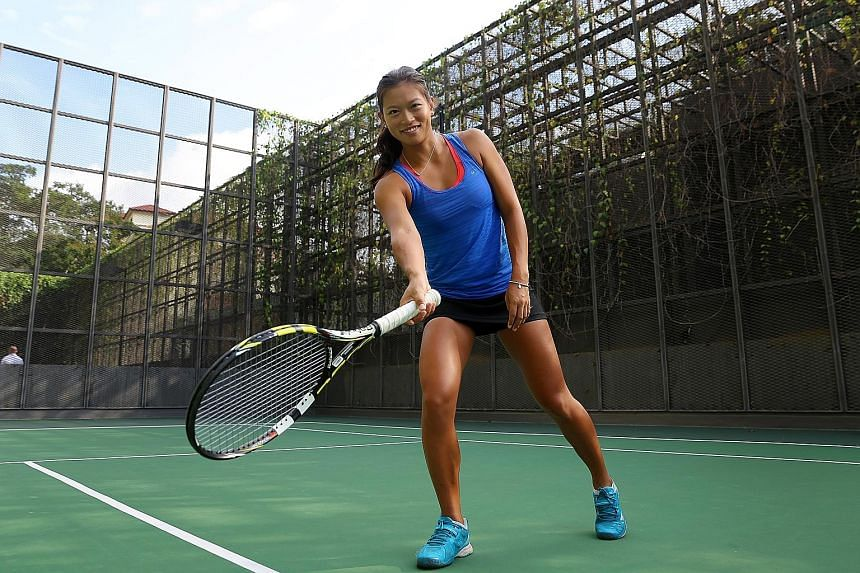 Stefanie Tan is putting in a total of eight hours a day, six days a week, on the court and in the gym. She returned to the tennis circuit in May at a tournament in South Korea and has now gained direct entry into next week's US$10,000 ITF tournament