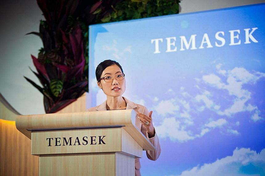 Ms Png, head of financial services and senior managing director for China at Temasek, says that while the returns for the year reflected the global economic slowdown, the firm has been actively reshaping its portfolio over the past few years in order