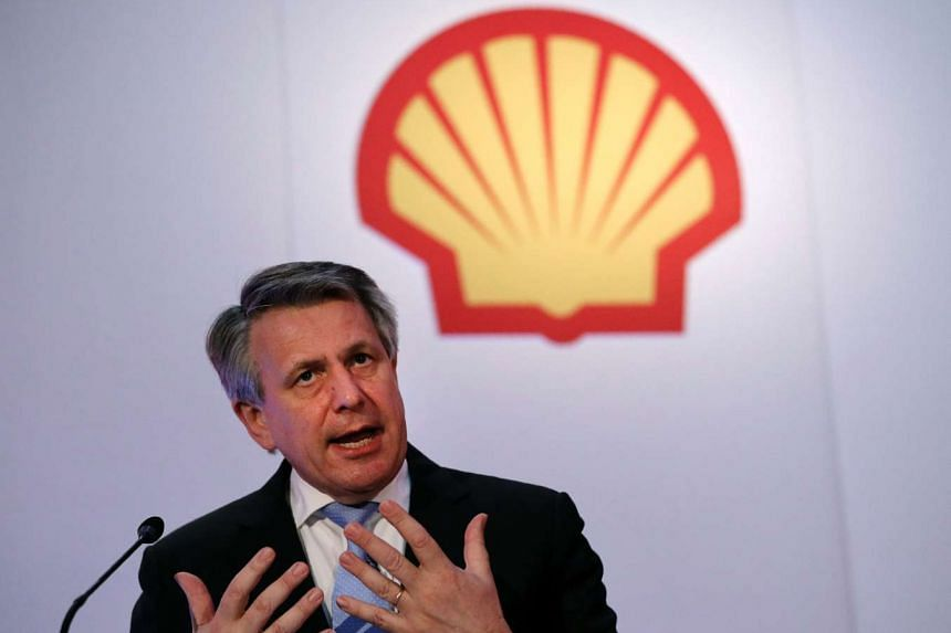 Royal Dutch Shell's chief executive Ben van Beurden speaks at Shell's Capital Markets Day media presentation in London, on June 7, 2016.