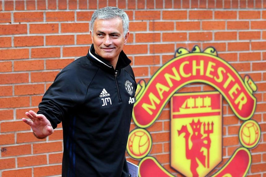 Coach Jose Mourinho hopes to make Manchester United title contenders again.