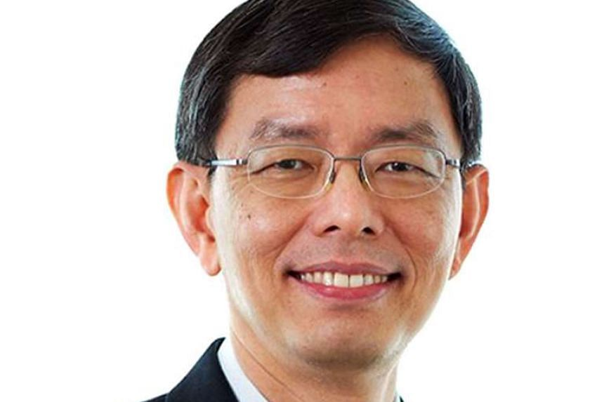 Taking over is Mr Peter Ong (above), permanent secretary of strategy who is also head of the civil service.