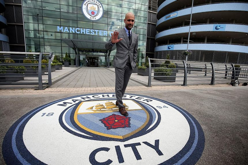 Manchester City manager Pep Guardiola can hardly wait to work with Raheem Sterling, Joe Hart and other English players on reaching their potential.