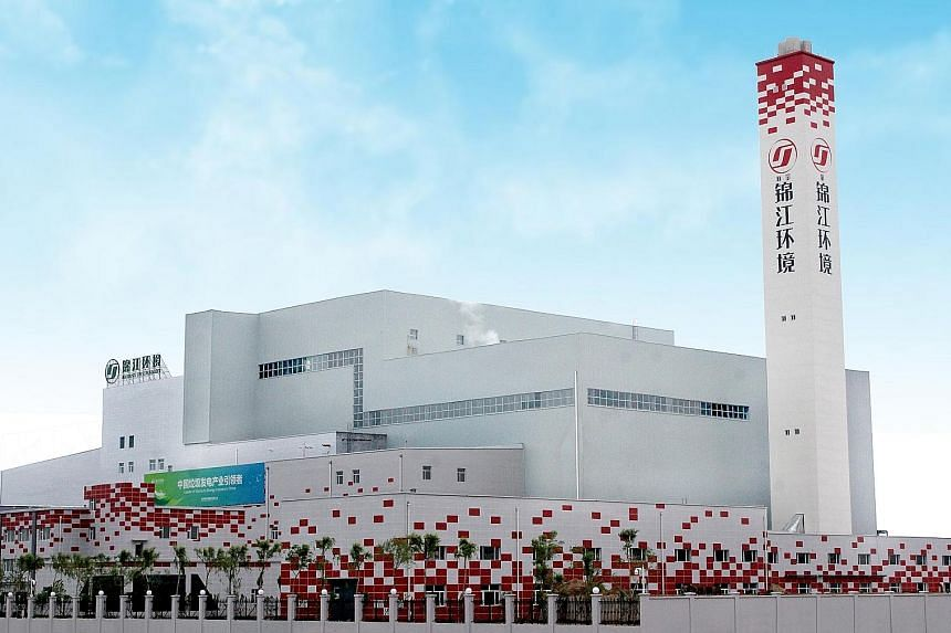 The Songyuan Xinxiang waste-to-energy facility in China which belongs to China Jinjiang Environment Holding Company. The company operates 16 such facilities in 12 provinces, autonomous regions and centrally- administered municipalities across China.
