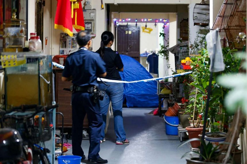 The man found dead on the sixth floor of Block 279, Yishun Street 22, on Saturday (July 9) had attended the same church as his suspected assailant.
