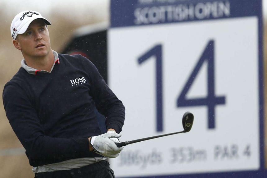 Alex Noren during the third round of the Scottish Open on July 9.