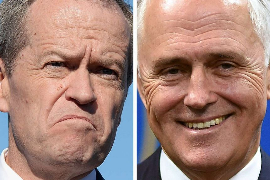 Australian Labor Party leader Bill Shorten (left) and Australian PM Malcolm Turnbull. On Sunday (July 10), Bill Shorten conceded that the Labor Party did not gain enough seats in parliament to form a government in the wake of the July 2 federal elect