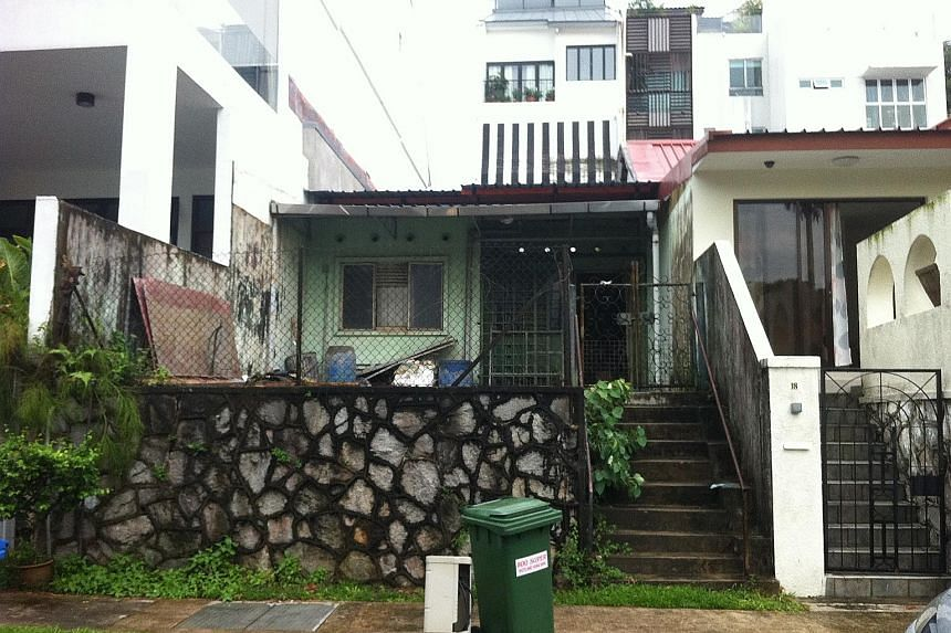 The house at 17 Jalan Batai, off Upper Thomson Road, where the two sets of remains were found. The two sisters who lived in the house were reclusive.