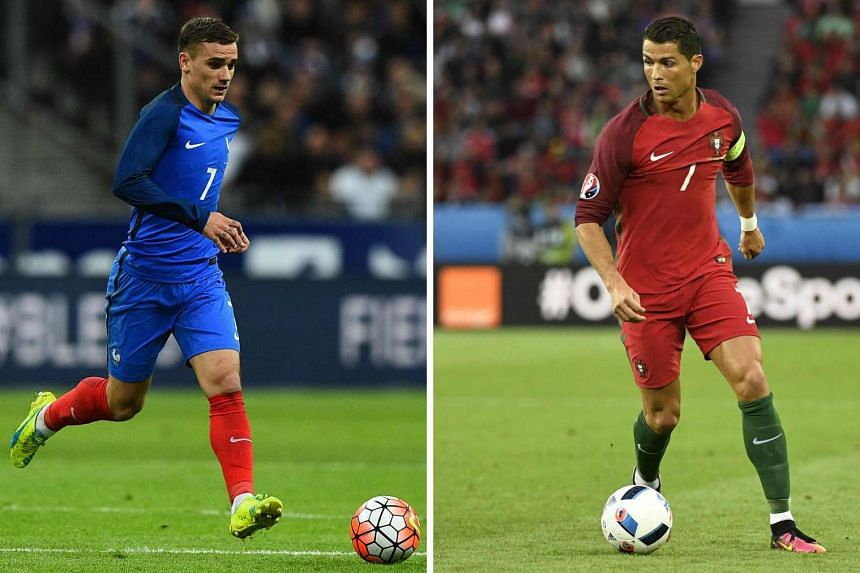 France will face Portugal in the Euro 2016 final football match at the Stade de France, on July 10, 2016.