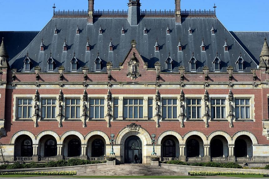 "The Peace Palace is an international law administrative building in The Hague, the Netherlands that is often called ""the seat of international law"" because it houses the Permanent Court of Arbitration and International Court of Justice."