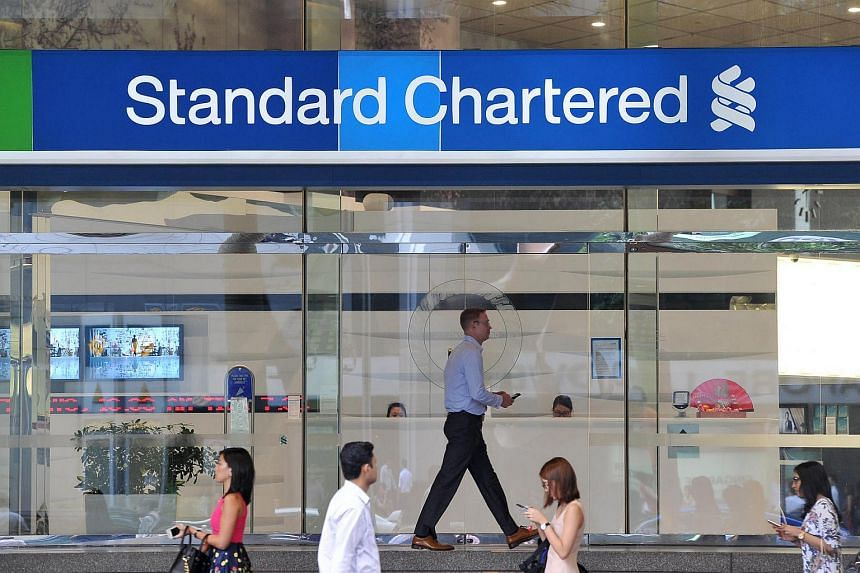 Standard Chartered Bank branch at 6 Battery Road.