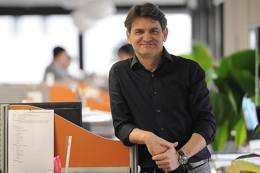 Mr Blecic has followed an unusual career path for an architect, joining OCBC in 2010.