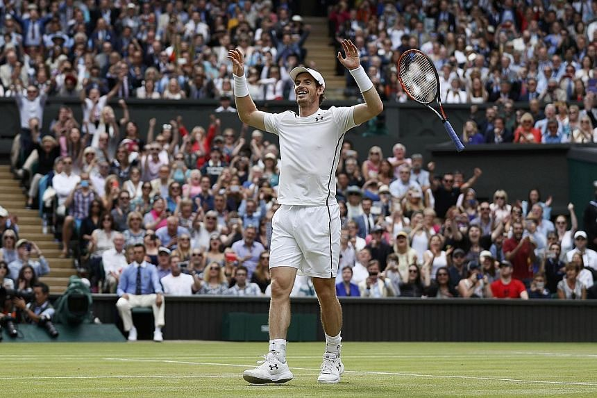 With his second Wimbledon men's singles title win, Andy Murray has accumulated three Grand Slam crowns, including his US Open breakthrough in 2012.