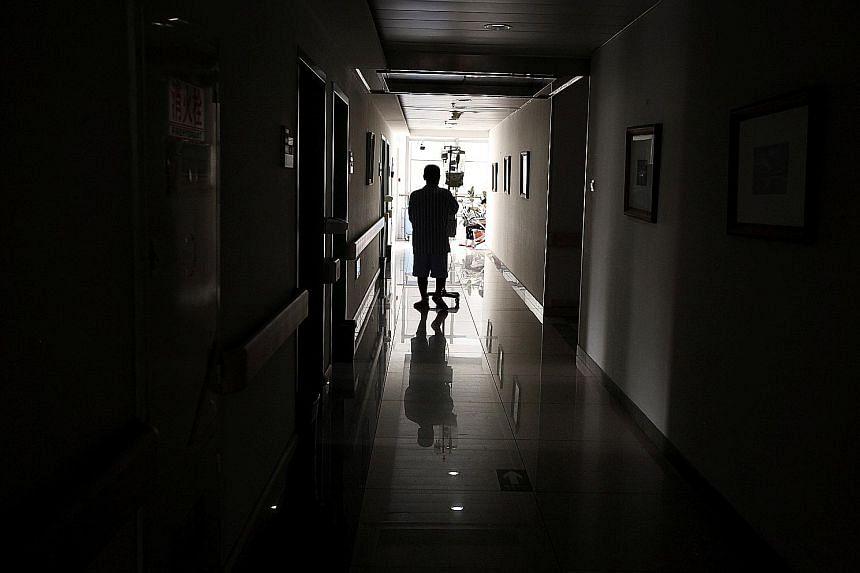 A cancer patient in a Beijing hospital. Official data shows up to 44 per cent of families in China pushed into poverty were impoverished by illness.