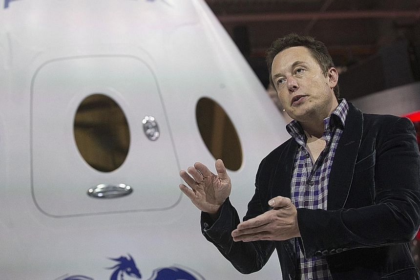 Among his many ventures and titles, Mr Musk is CEO of SpaceX which aims to set up a colony on Mars by 2040.
