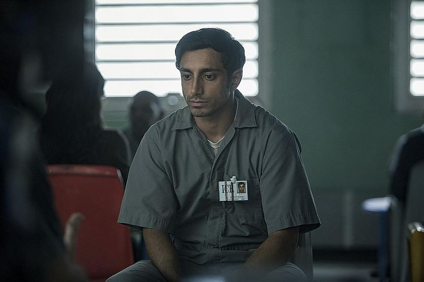 Riz Ahmed plays Naz, an honours student who was charged with murder.