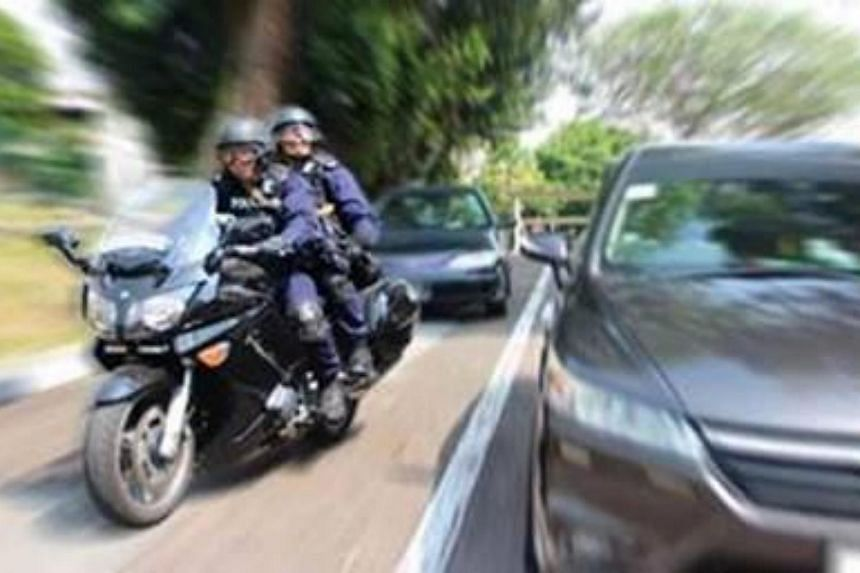 The Rapid Deployment Troops are equipped with tactical response motorcycles to navigate through traffic gridlocks.