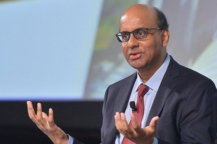 Mr Tharman says it is critical that older workers be seen as assets to be continually invested in.