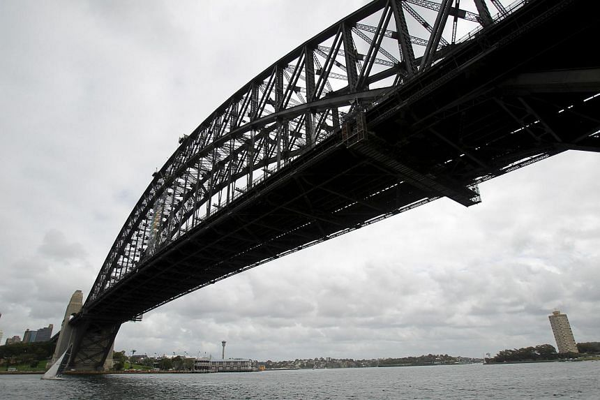 This file photo taken in 2012 shows the Sydney Harbour Bridge from the north side of the harbour in Sydney. An Australian court has on Tuesday (July 12) convicted a Sydney man of recruiting foreign fighters for Islamic State.