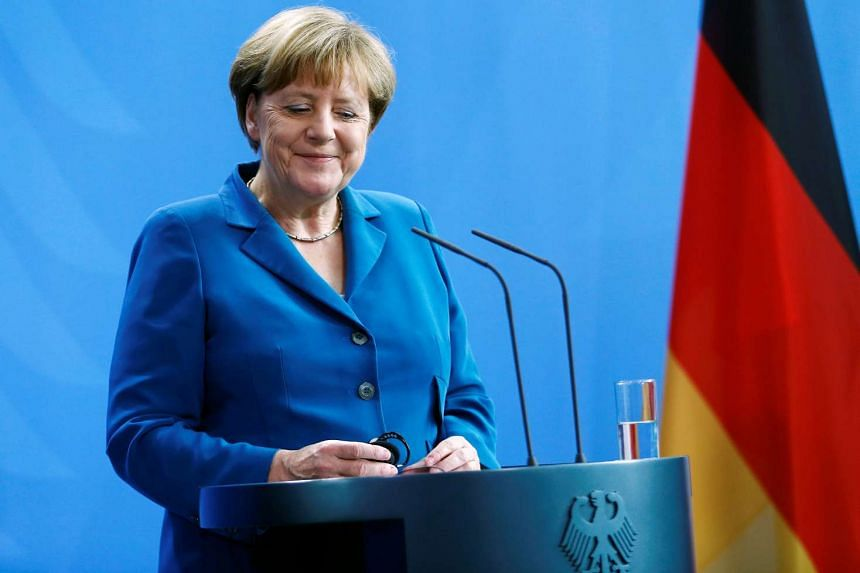 German Chancellor Angela Merkel attends a news conference at the chancellery in Berlin, Germany, on July 12, 2016.