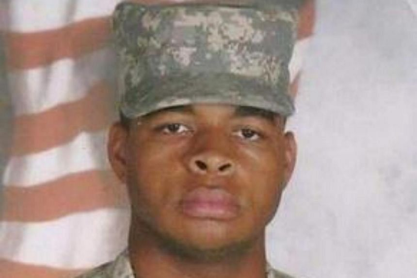 This file photo obtained on July 8 shows Micah Xavier Johnson.