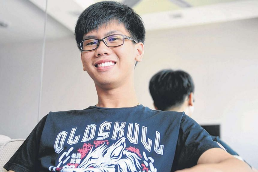 Now that he is aware of his ADHD condition, ITE student Wong Joong Rong, now 16, makes an effort to put himself in the shoes of others and manage his anger and impulses.