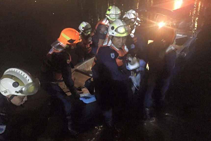 SCDF officers said they found the body of the missing bumboat operator, on the night of July 13, 2016.