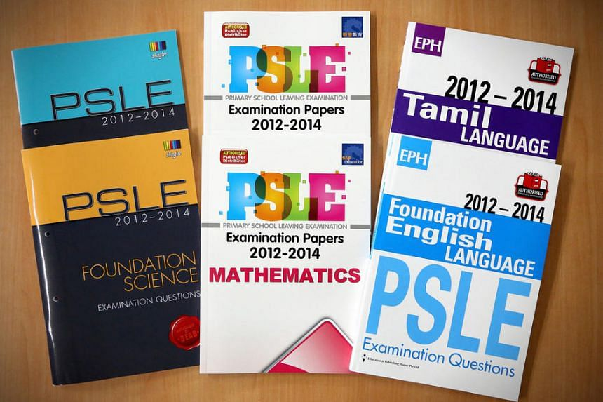 PSLE papers from 2012 to 2014 in examination format, for both the standard and foundation levels, in all subjects.
