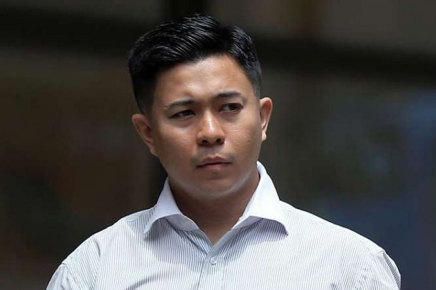Muhammad Firman Jumali Chew was sentenced to 12½ years' jail and 11 strokes of the cane by the High Court for posing as a policeman and raping a 16-year-old girl.