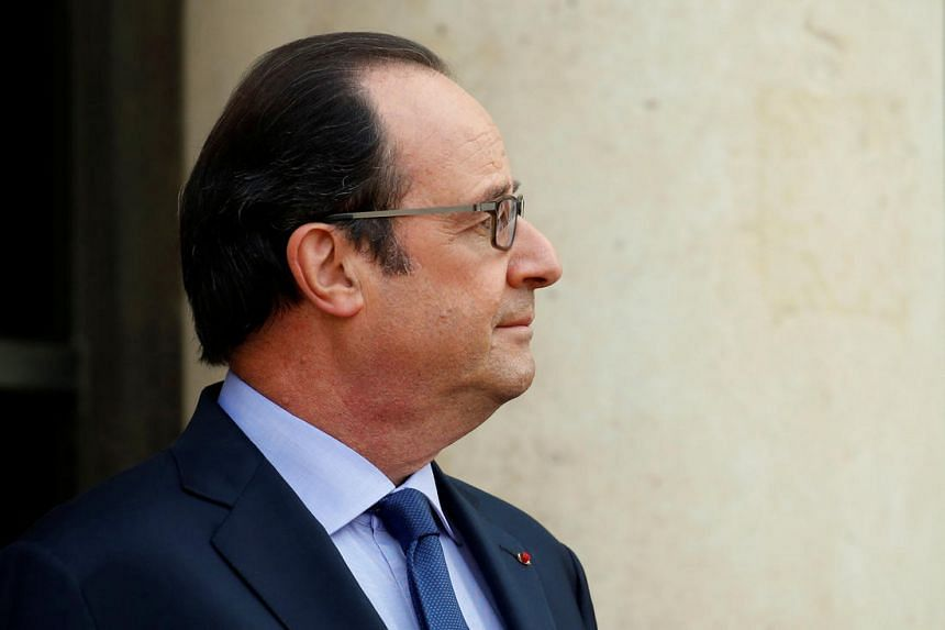 French President Francois Hollande has a hairdresser working for him at a salary of 9,895 euros (S$14,747) a month.