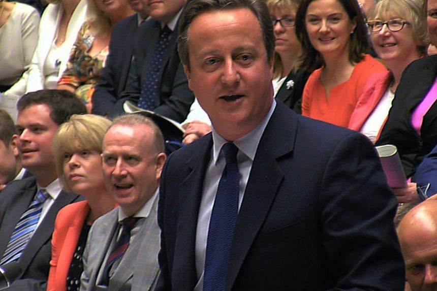 Britain's out-going Prime Minister David Cameron during his last Prime Minister's Questions at the House of Commons in central London on July 13, 2016.