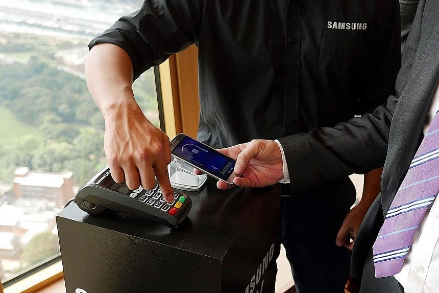 Apple Pay, Android Pay and Samsung Pay were launched with much fanfare in the past two months, but sign-ups in Singapore have been slow as it is still early days.