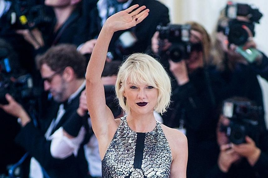 Pop diva Taylor Swift took home US$170 million (S$229 million) over the past year, according to Forbes magazine's list of 100 highest-paid celebrities.