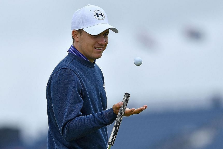 Jordan Spieth during practice at Royal Troon, Scotland, for this week's British Open. The American world No. 3 is the latest big-name golfer to pull out of the Rio Olympics - placing golf's chances of remaining an Olympic sport beyond Tokyo 2020 in j