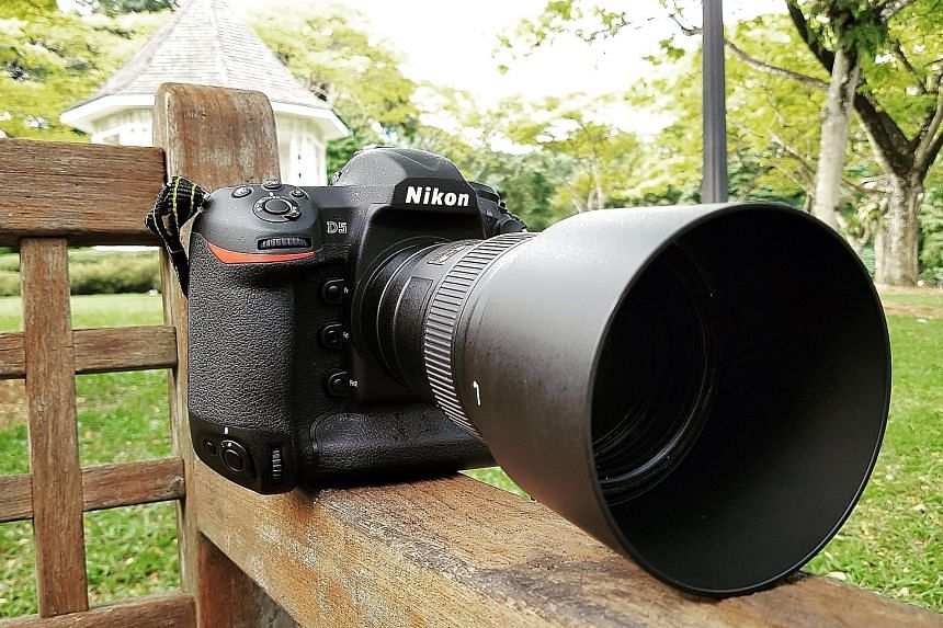 The Nikon D5 is built like a rock, with a weather-sealed, magnesium-alloy body.