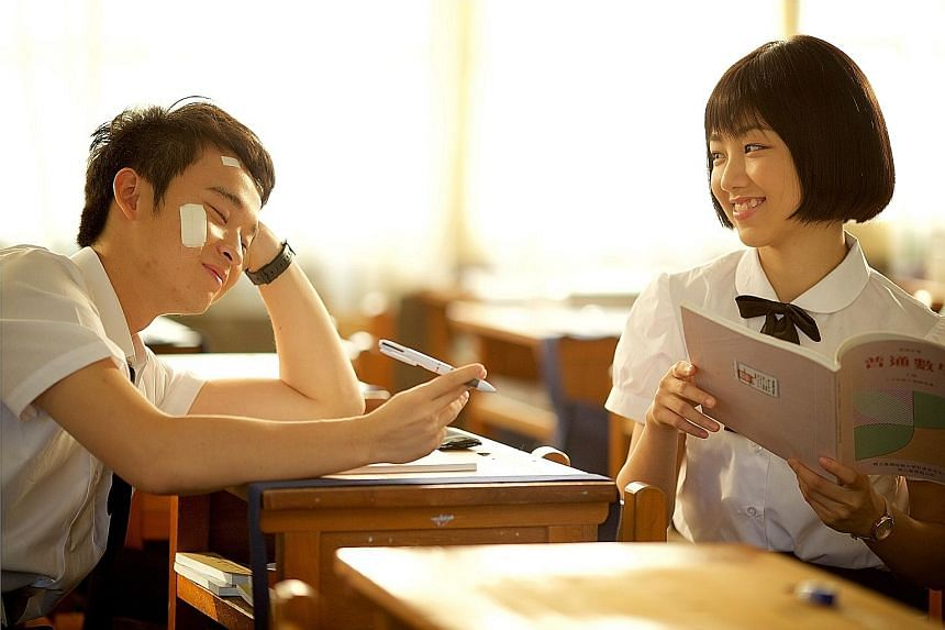 Dong Zijian and Cherry Ngan play the leads in At Cafe 6.