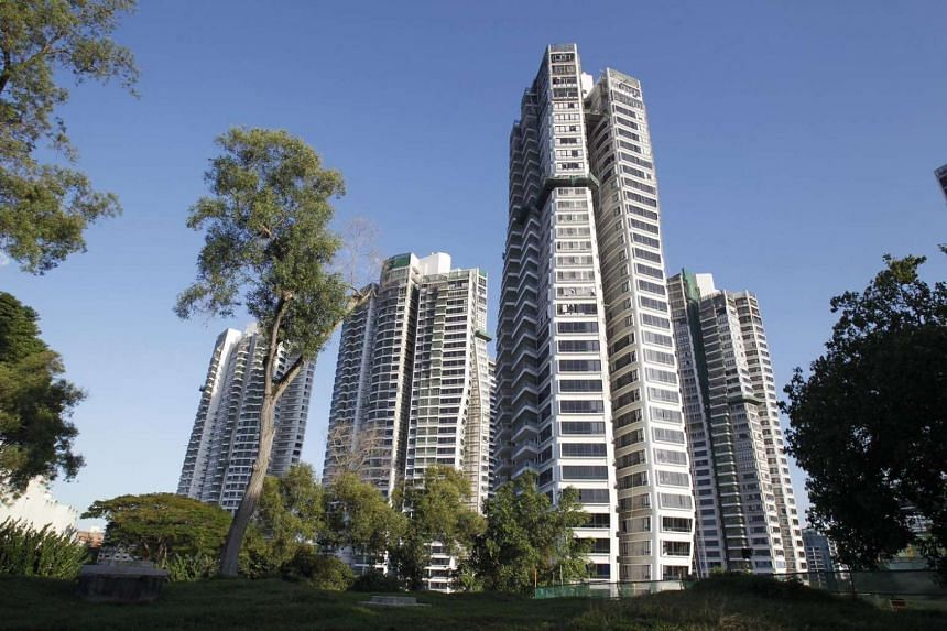 Rents for private condominiums and apartments were unchanged in June from May while those for Housing Board flats dipped by 3 per cent.