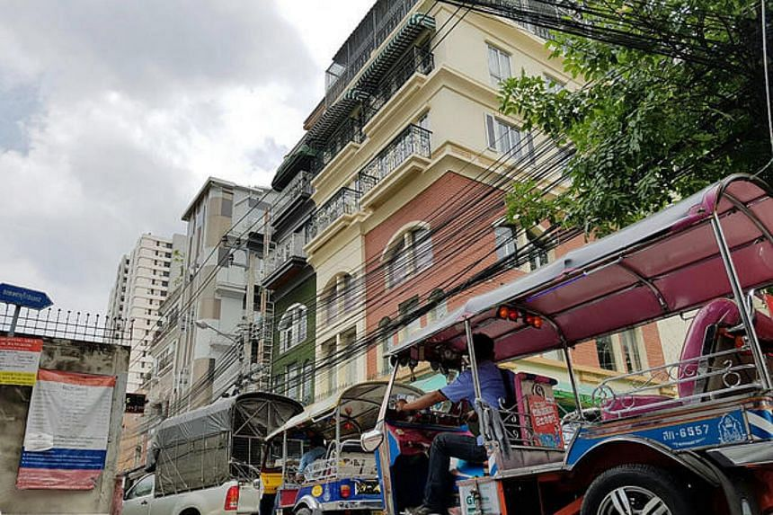 Boxpackers hostel, where David James Roach was staying in Thailand.