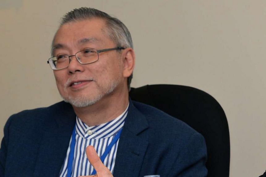 Professor Ng Wun Jern, executive director of the Nanyang Environment and Water Research Institute.